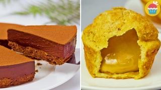 Три рецепта десертов с шоколадом. Простые вкусняшки для полуночного перекуса 😋