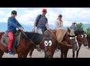 Катаемся на лошадках стреляем из лука в горах В КРЫМ ИЗ МОСКВЫ НА МАШИНЕ С ДЕТЬМИ