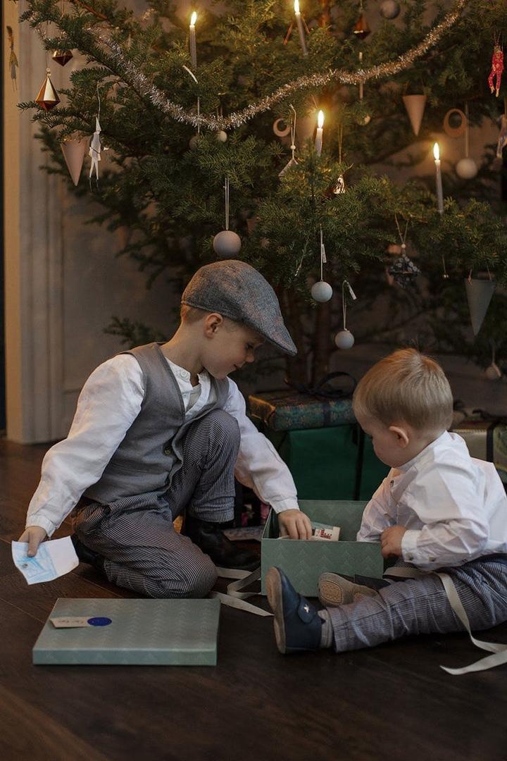 Душевное Рождество с семьёй в доме 1912 года в Дании