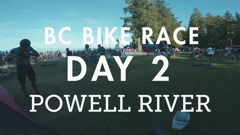 BC Bike Race - Day 2 - Powell River | Sprint to the finish!