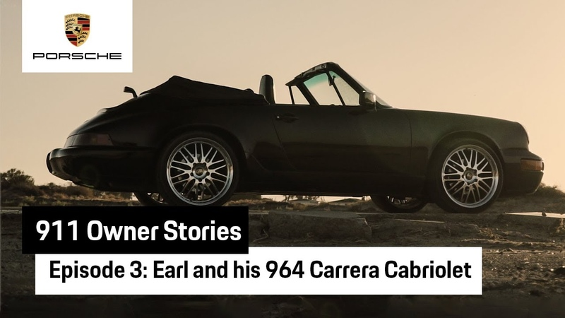 911 Owner Stories Earl and his 964 Carrera Cabriolet