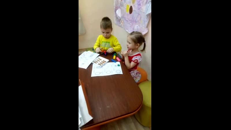Английский для дошколят с трех лет
