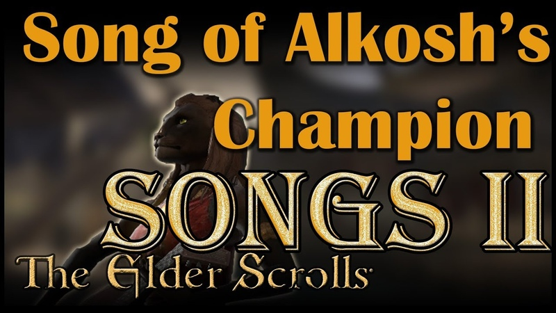 ESO Songs Elsweyr Song of Alkosh's Champion