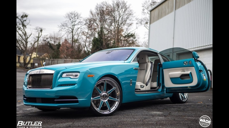 Keyshia Ka'oir's Rolls Royce Wraith on 24 Forgiato Wheels by Butler Tire