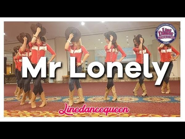 Mr Lonely Line Dance (Beginner / Improver) Robert Royston Demo