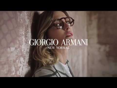 Giorgio Armani New Normal FW 19-20 Optical Campaign