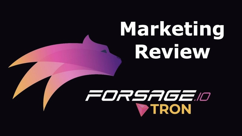 TRX Marketing on Forsage All Aspects Webinar 11 09 20