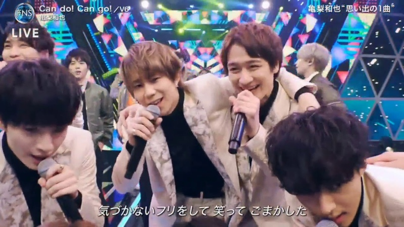 Can Do Can Go V6 2019FNS歌謡祭 第2夜 2019年12月11日