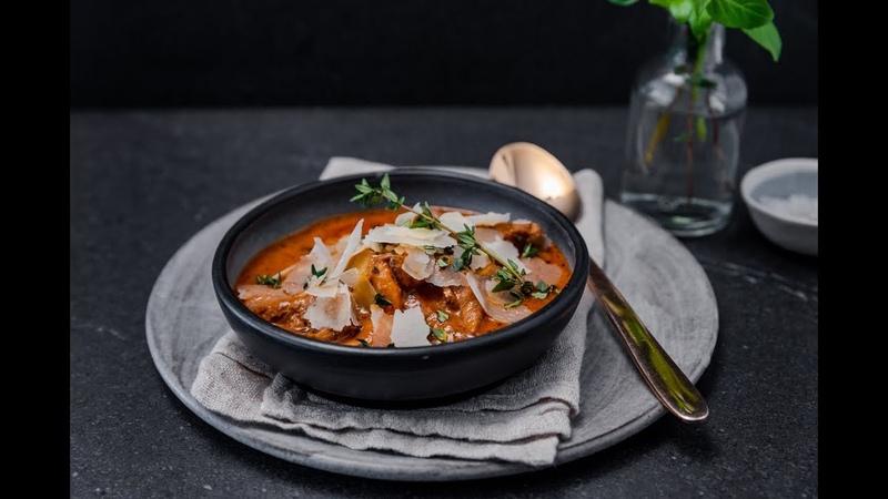 Beef, Mushroom Thyme Stew
