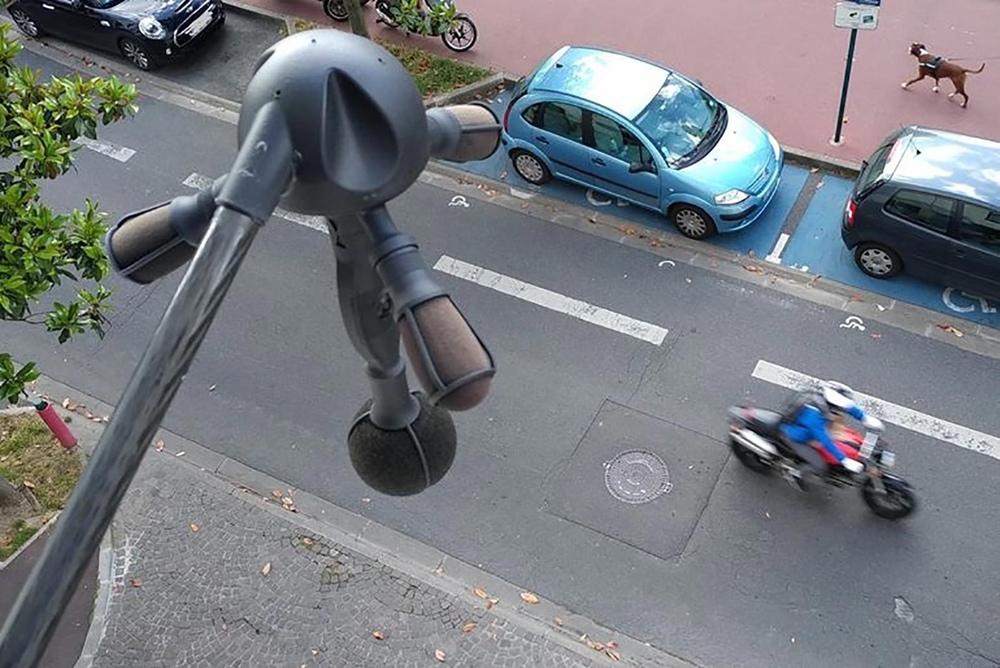 В Париже собираются тестировать камеры наблюдения за шумом