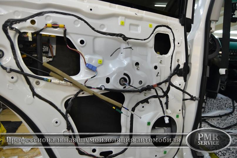 Комплексная шумоизоляция Toyota Land Cruiser 200, изображение №10