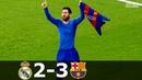 Real Madrid vs Barcelona 2-3 - La Liga 2016/2017 - Highlights (English Commentary)