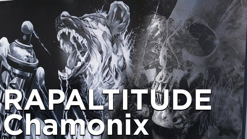 RAPALTITUDE Exposition Peinture Graffiti Street Art Urbain Chamonix Mont-Blanc Culture Montagne