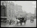 ROYAL: Tenth anniversary of King Edward VII's death observed at Windsor (1917)