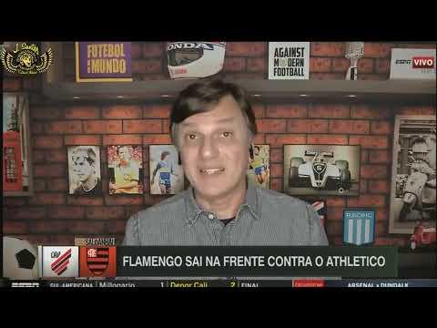 LINHA DE PASSE - FLAMENGO VENCE ATHLÉTICO-PR COM GRANDE ATUAÇÃO DE HUGO NENECA, JOVEM PEGA PÊNALTI