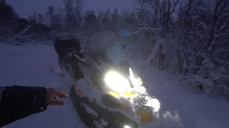 Ski-doo 900 ACE .фонарь ТМ 28 . и Люты