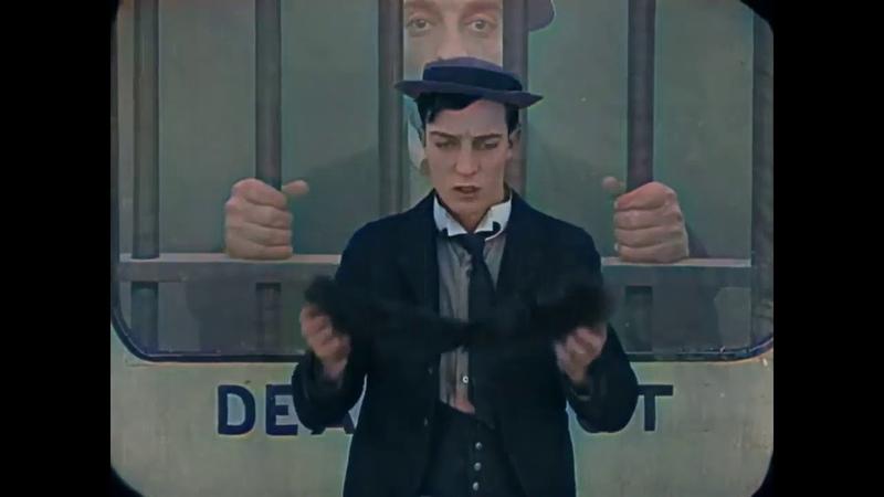 Buster Keaton Laurel Hardy TV THE GOAT COLOR KOLORIERT