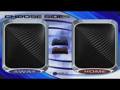 NHL Hitz 2002 (PS2 PCSX2) - Gameplay - знакомство с игрой