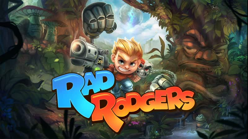 RAD RODGERS Full Gameplay Walkthrough 1080p HD