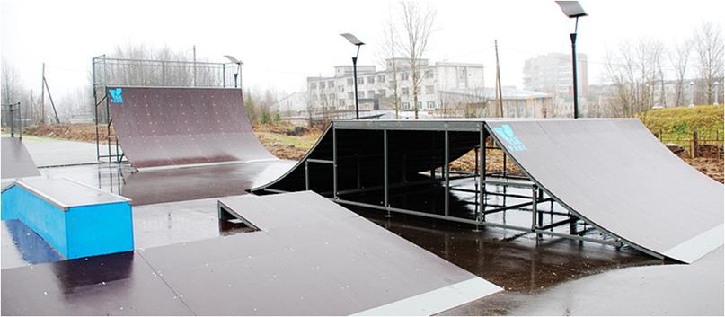Скейт-парк (г. Губаха)