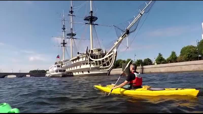 WET Vlog - В Питере Плыть!