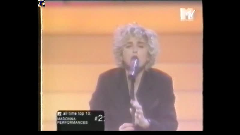 Madonna Performances All Time Top 10 MTV 1998 стереозвук