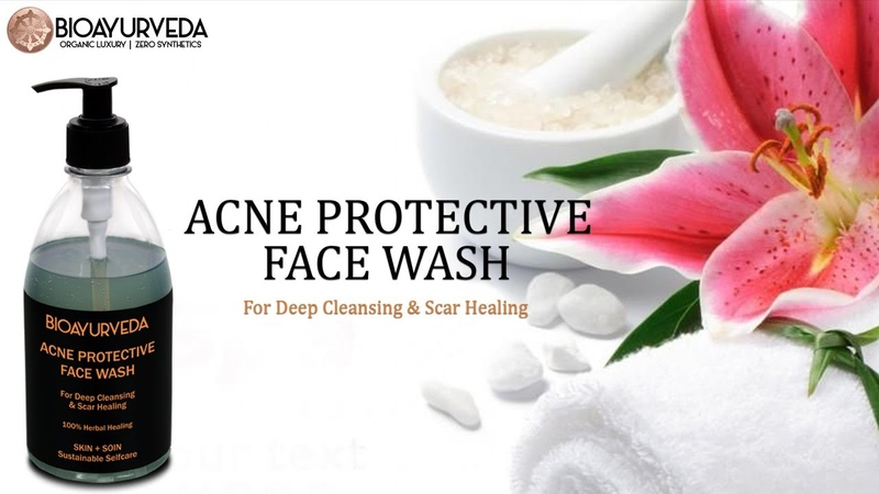 ACNE PROTECTIVE FACE WASH For Deep Cleansing Scar Healing