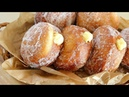 (No oven )How to make delicious Vanilla custard cream donuts Custard Filled Donuts Easy recipe