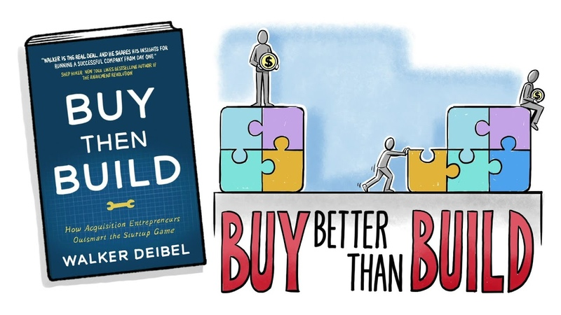 BUY THEN BUILD HOW ACQUISITION ENTREPRENEURS OUTSMART THE STARTUP GAME by Walker Deibel