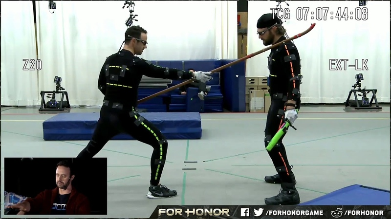 For Honor Warrior's Den Execution Mocap Session Excerpt Behind the Scenes