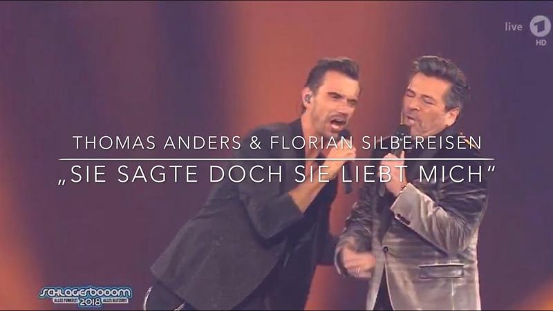 """20.10.2018 Schlagerboom. Thomas Anders Florian Silbereisen - """"Sie sagte doch Sie liebt mich"""""""