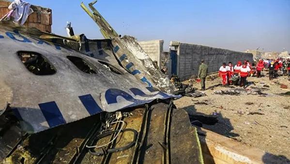 Киев потребует компенсацию, если украинский Boeing в Иране был сбит