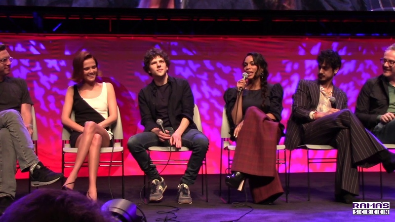 ZOMBIELAND DOUBLE TAP Panel | Zoey Deutch, Rosario Dawson, Avan Jogia, Jesse Eisenberg