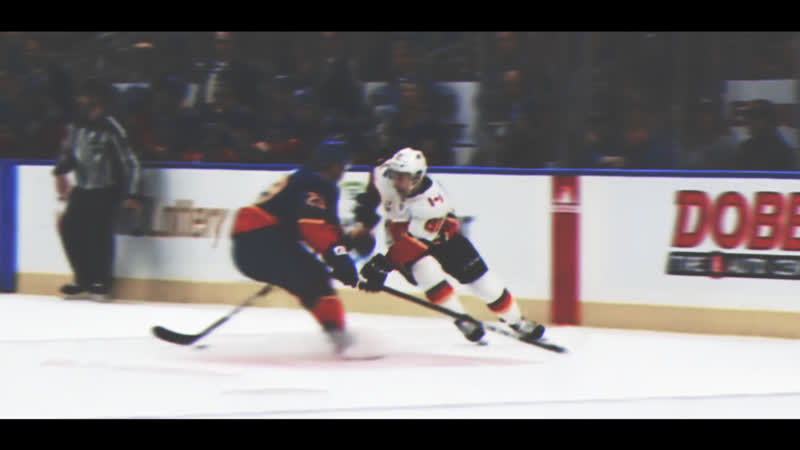 Vince Dunn Destroys Andrew Mangiapane With Big Hit In Neutral Zone