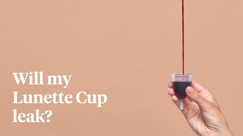Lunette FAQs Will my Lunette Cup leak