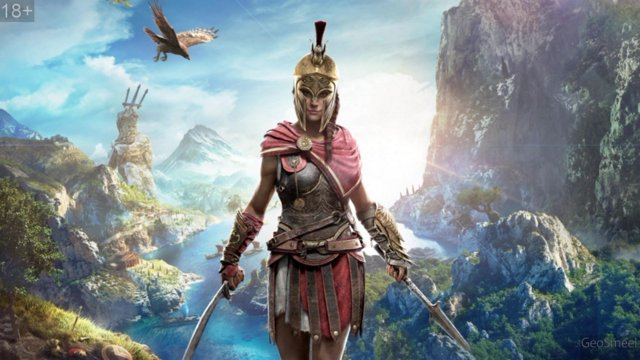Assassins Creed Odyssey [RUS] (18) - часть 2 А это сынок - море