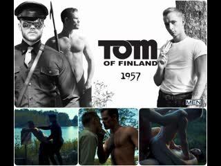 Tom Of Finland 1957 - Kurtis Wolfe, Matthew Camp, Theo Brady - Видео группы Гей Пошлятина
