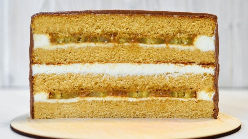 Карамельный ТОРТ ☆ Нежный с ВКУСНЕЙШЕЙ начинкой ☆ Caramel CAKE