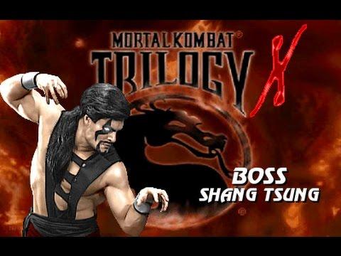 MKTX (MUGEN) - MK3 Shang Tsung (BOSS version) Playthrough