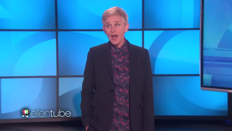 Ellen Dissects the Kid Interrupted BBC Interview