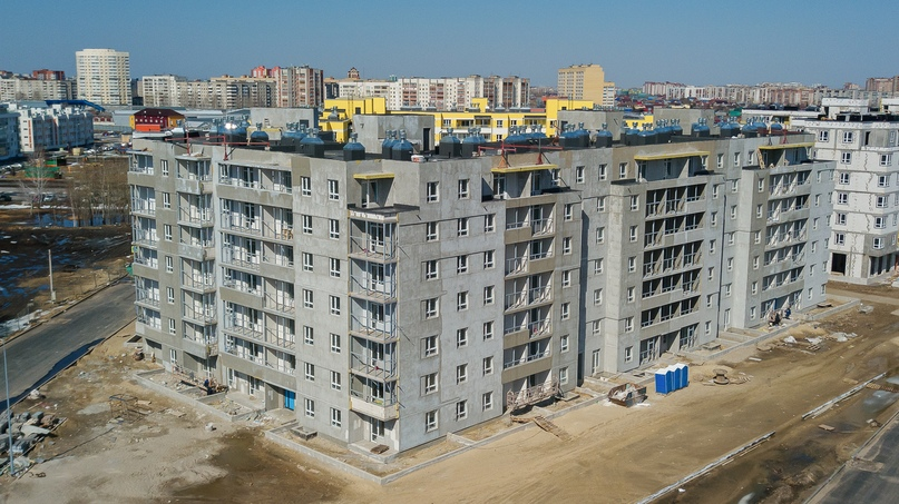 Отчет о ходе строительства апрель 2020 ЖК «Апрель», изображение №9