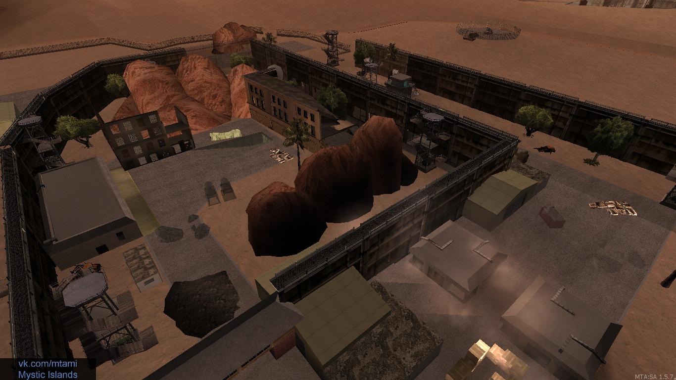 Аномалия «Зона 51» со своими прожекторами и научная лаборатория, которая даёт Очки Стихий.