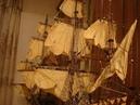 Мой парусник на мойке или как я ухаживаю за моделью Галеон XVII века Сан Джованни Батиста