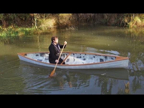 Paper Canoe made in lockdown