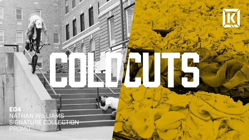 Nathan Williams Signature Collection BTS Video - Kink BMX Cold Cuts Ep. 4