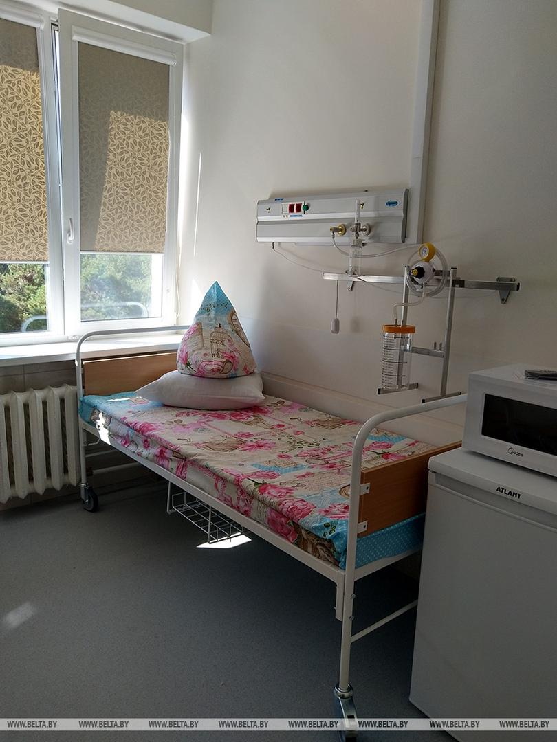 Обновленное торакальное отделение открыли в Брестской областной больнице