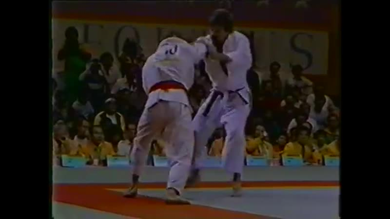 1984 Olympic Judo 78kg Final Neil Adams GBR vs Frank Wieneke GER