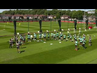 A special Melwood sing-a-long for Stevies birthday