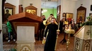 Воскресная Литургия в храме после косметического ремонта День Зачатия Иоанна Предтечи 6 октября 20