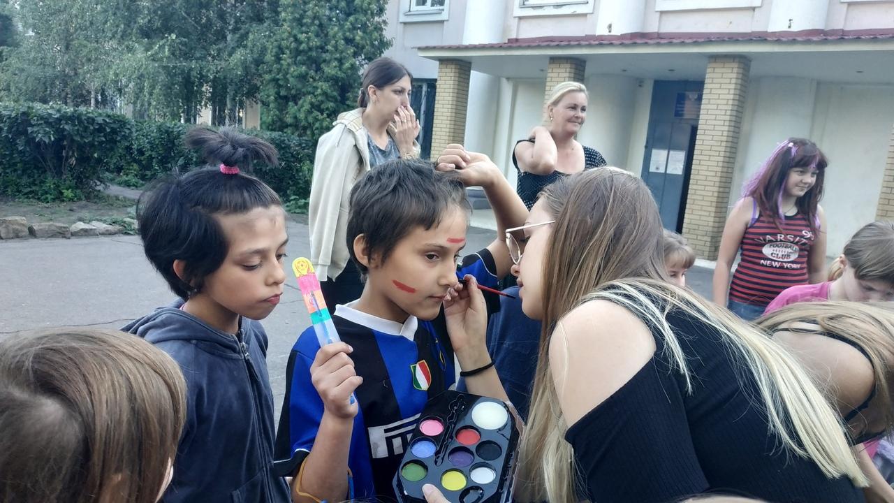 Встреча с ребятами Детский социальный приют г.Донецк